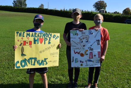 St. Andrews Catholic School Terry Fox Run raises over $5K