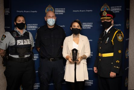CPS officers recognized in virtual ceremony