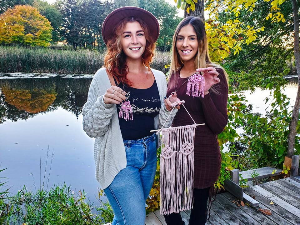 Local artisan duo raising money for breast cancer awareness