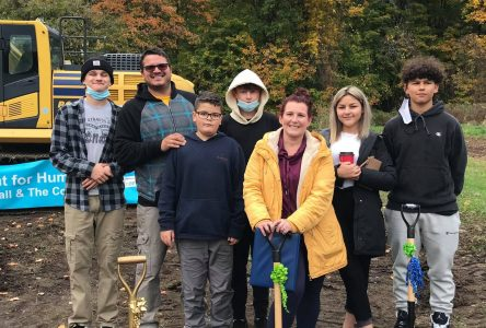 Habitat for Humanity Cornwall breaks ground on new Home Build