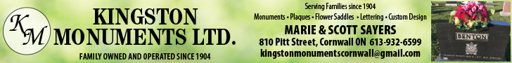 Kingston Monuments, Cornwall, Ontario